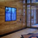 412 Pitt St: Office Lobby Screen Installation